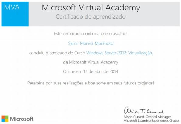 Windows Server 2012: Virtualização