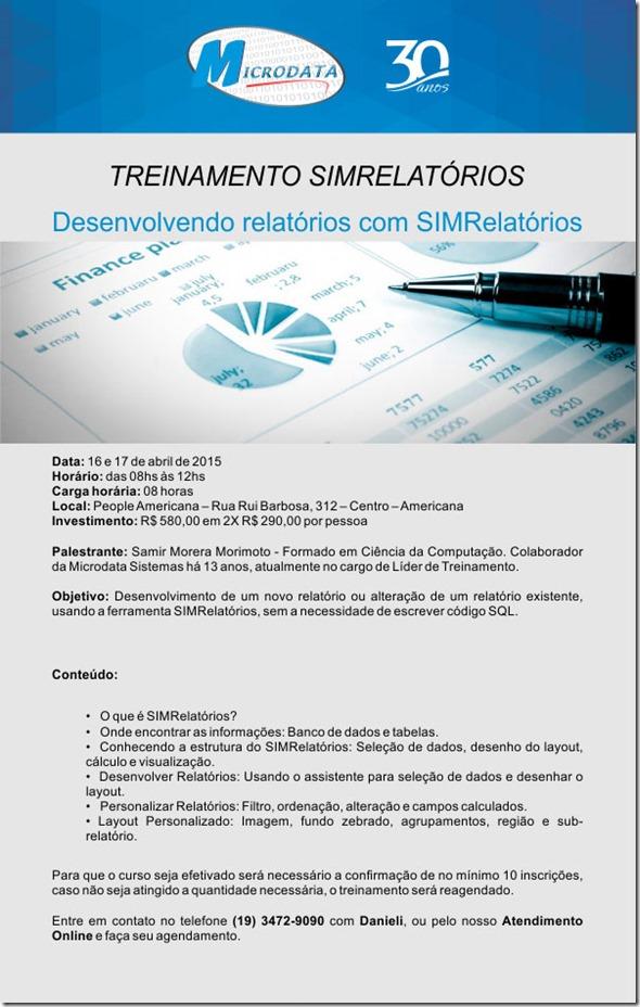 Treinamento_SIMRelatorios_Abril2015